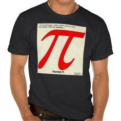 Humble #Pi #Organic #Tshirt by @RickLondonGreen #zazzle #nogmo #gmo-free #gift #sale #algebra