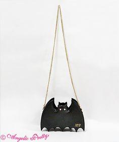 AP - Horror Bat Pouch - Black x Gold
