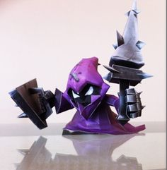 League of Legends LOL DIY 3D Melee Minion Papercraft Paper Model Paper Craft - See more at: http://www.lolamz.com/league-of-legends-lol-diy-3d-melee-minion-papercraft-paper-model-paper-craft-p-3683.html
