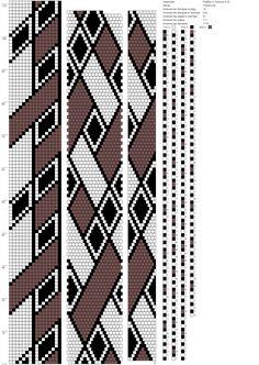 Ромбы vs полосы 0,32 (16) http://crochetbeadpaint.info/raports/2121115