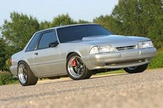 Coyote-Swapped 1991 Fox Mustang LX Coupe Pulls Like a Freight Train