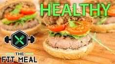 Healthy Beef Tartare Burger with Avocado