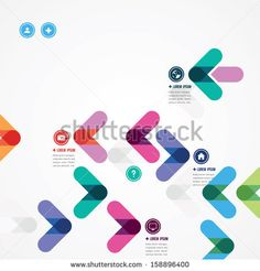 Find Design Template Colorful Arrows stock images in HD and millions of other royalty-free stock photos, illustrations and vectors in the Shutterstock collection. Web Design, Vector Design, Book Design, Layout Design, Print Design, Charity Branding, Connect Logo, Inspiration Logo Design, Map Logo