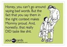 and this is most likely a conversation B & I will end up having with our children :-p