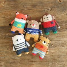"79 Likes, 11 Comments - Crochet doll Pattern design (@bigbebez) on Instagram: ""5in1 minimals♡ #crochet #crochetdoll #crochetlove #toy #amigurumi #amigurumidoll #handmade…"""