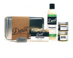 Detroit Grooming Co. 5 Stainless Steel Beard by DetroitGroomingCo