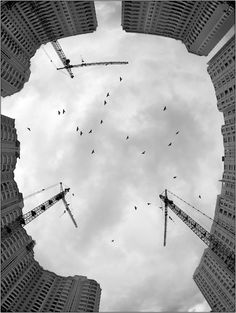 ♂ Composition and perspective Building Site, photography by Dima Zverev