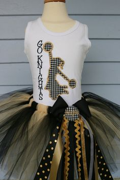I love the skirt, cheerleading isn't big at all in Australia, so the skirt will be a fairy skirt with edge.