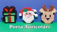 3D Porta Auricolari/Cuffie Natalizi  Hama Beads/Pyssla - Diy Tutorial