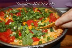 Touchdown Hot Taco Dip