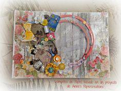 Sementes de papel: Organizador de lazos de Anne's Papercreations.