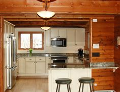 Country home in Vermont,  Candlelight Cabinetry,  Designer: Mike Pierce,  Company: Bouchard - Pierce