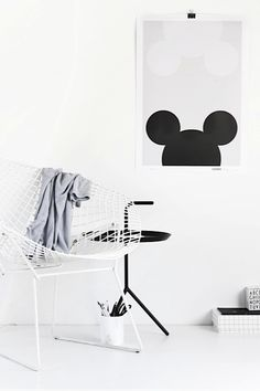 Loving these new monochrome Mickey / Minnie Mouse inspired posters! In stock and online now!