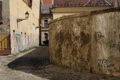 Dans un quartier de Bratislava.