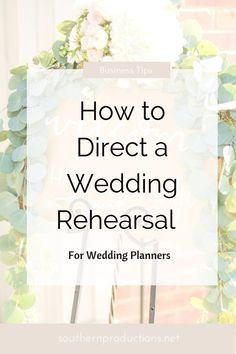 wedding planner Wedding Planners can learn How to Direct a Wedding Rehearsal Wedding Coordinator, Wedding Events, Wedding And Event Planning, Wedding Ceremony Etiquette, Wedding Ceremony Script, Yard Wedding, Wedding Planning Inspiration, Wedding Timeline, Wedding Shot