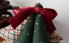 Patchwork en Casa - Anna&Patch: Tutorial: Árbol de Navidad