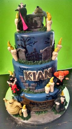 Hotel Transylvania / Halloween Cake