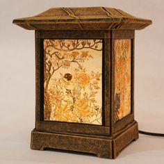 Korean hanji paper lamp.