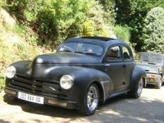 peugeot 203 hot rod style