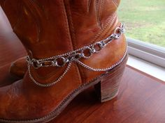Boot Chains Boot Bracelets Boot Jewelry  Boot Bling. by ScarfFX