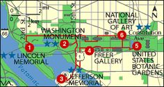 Map of Washington, D.C.