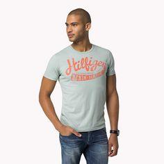 Hilfiger Denim Federer Logo T-shirt - grey mist-eur (Grau) - Hilfiger Denim T-Shirts - Hauptbild