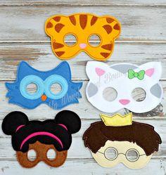Daniel tigre barrio la máscara fiesta de cumpleaños