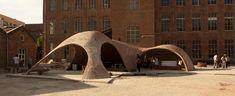 Bricktopia fue una obra de arte experimental presentada en Barcelona. #Ladrillo #Arte #Construccion #Contemporanea