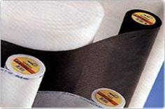 La vlieseline : les différents types adaptés à tous types de tissus, avec leur numéro.