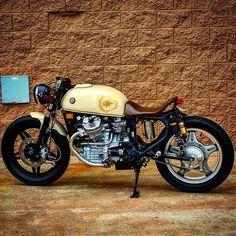 Honda CX500 cafe racer discover #motomood