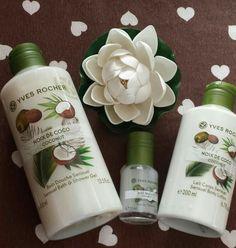 Yves Rocher ha selezionato la noce di cocco fresca, polposa, ricca di succo e di latte per offrire alla pelle il profumo di una seduzione sottile e sensuale