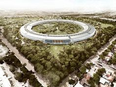 New Apple HQ - to be completed 2015