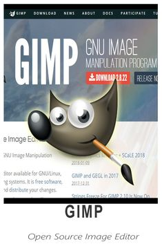 Gimp - Image Manipulation program Open Source Images, Great Apps, Virtual Assistant, Linux, Programming, Tools, Learning, Instruments, Studying