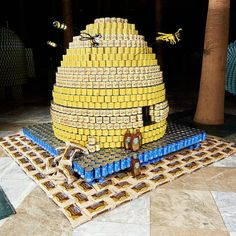 Check Out All The Clever Can Creations From Canstruction's 20th Anniversary : Gothamist