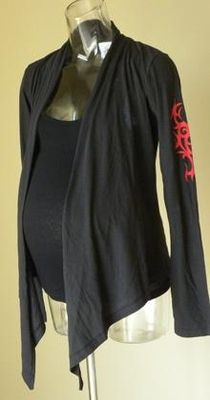 NEW! Hot Mama Ink Heart and Wing Tribal Maternity Wrap $65.00