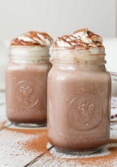 Cinnamon Hot Chocolate With Rum + Horchata.