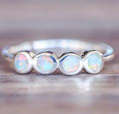Multi Opal Ring
