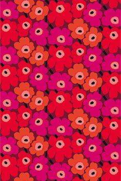 Marimekko, Pieni Unikko II Cotton Fabric