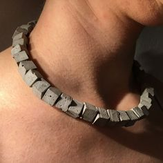 cubes - concrete jewelry bachbetti.ch