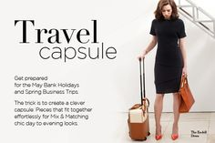 The Fold Fondon - (UK) Travel Capsule: Clever Packing for your Spring Business Trips and Breaks