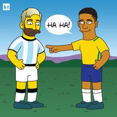 Messi's Argentina have been bullied by Neymar's Brazil!