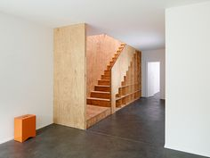 Eclépens apartments, multifunctional wooden furniture by BIG-GAME