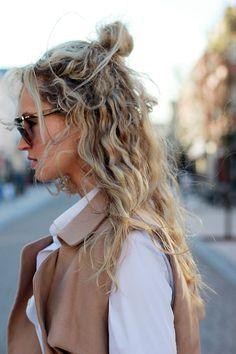 super pretty natural curls
