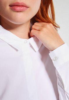 vero moda vmlady fine - skjorta bright white vit kvinna kläder blusar & skjortor [vero-moda-vmlady-fine-skjorta-bright-white-ve121e0lt-a11]