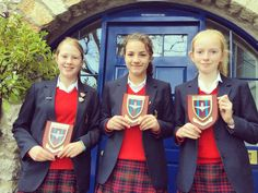 First day back at Casterton, Sedbergh Preparatory School and achievements have already been awarded! Congratulations to these pupils who were presented with a plaque from The Parachute Regiment for outstanding leadership during the Leadership Day towards the end of last term. Well done girls!
