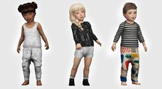 Sims 4 CC's - The Best: Toddlers Clothing by owl plumbob