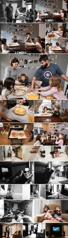 Documentary Family Photography - Day in the Life - Let's Make Pizza