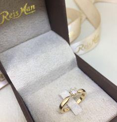 Anel de Noivado Oregon - Anéis de Noivado é na Reisman!
