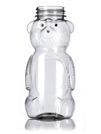 Honey Bear Containers | Plastic Honey Bottles With No Minimums!