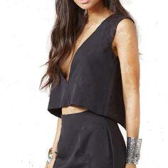 44312f01adb518 Summer Style ZANZEA Women Blusas Chiffon Crop Tops Sexy Deep V Neck Split  Backless Tank Tops Casual Solid Vest Shirts
